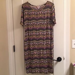 LuLaRoe Large Julia Dress